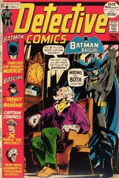 Detective Comics 420 Very Fine- 1972 DC Batman Batgirl Neal Adams Cover Batman Detective Comics, Marvel Comics Superheroes, Batman Comics, Dc Comics, Comic Book Covers, Comic Books, James Gordon, Batman And Batgirl, Superman