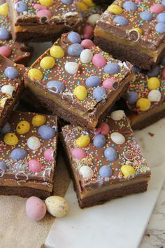 Easter Chocolate Millionaires Shortbread!