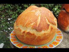 Moje pyszne, łatwe i sprawdzone przepisy :-) : Rewelacyjny chleb z garnka :-) Polecam-najlepszy :-)+FILM Baked Potato, Pizza, Menu, Potatoes, Baking, Ethnic Recipes, Film, Youtube, Brot