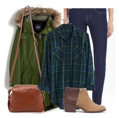 """""""8 Pieces, 5 Looks - Winter Capsule Wardrobe (outfit 2)"""" by abiggercloset ❤ liked on Polyvore featuring Madewell, women's clothing, women's fashion, women, female, woman, misses and juniors"""