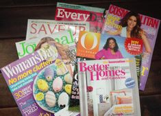 7 Free Magazine Subscriptions With No Strings Attached: Just a few of the magazines I get for free every month.