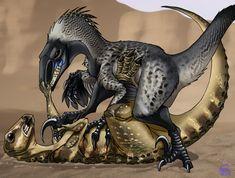 Stabby toes by IsisMasshiro on DeviantArt Prehistoric Wildlife, Prehistoric Creatures, Godzilla, Dinosaur Illustration, Jurassic Park World, Beast, Lion Sculpture, Deviantart, Artist