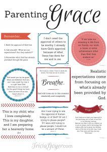 Parenting Grace - Free Printable - TriciaGoyer.com