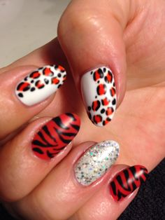 #nailart #animalprint #thenailgenius #polish #naildesign #nails #beauty #salon #melbourne