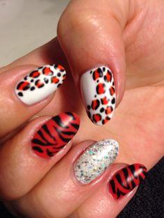 #nailart #animalprint #thenailgenius #polish #naildesign #nails #beauty #salon #melbourne