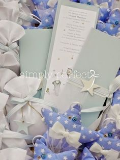 Bautismo-Comunion -baptism favors & invitations