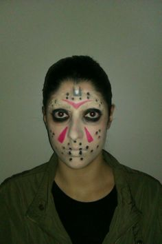Jason Voorhees  makeup Friday the 13th