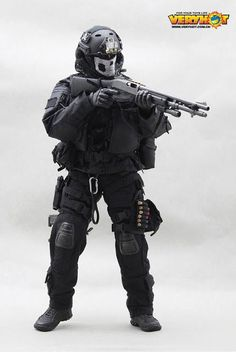 onesixthscalepictures: Very Hot CQB Ver.3 : Latest product news for 1/6 scale figures (12 inch collectibles).