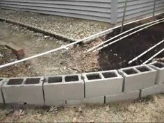 Awesome PVC garden drip irrigation system.  Would work great for a Square foot garden as well.
