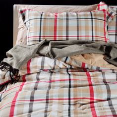 find more bedding sets information about strip plaid red vintage plaid king queen egyptian cotton bedding