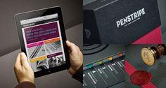 Penstripe Brand Identity by Taxi Studio