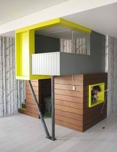 Ein süßes Bohemien Playhouse in New York City für Kinderspiele - http://wohnideenn.de/architektur/07/playhouse-in-new-york-city.html  #Architektur