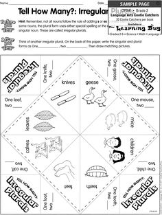 Cootie Catcher from Creative Teaching Press (c) 2011