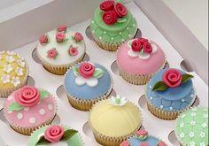 Cupcakes temáticos para el dia de la Madre!