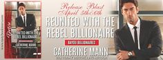 """""""Reunited With The Rebel Billionaire"""" Book Blast & Giveaway"""