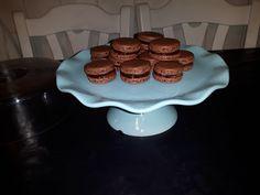 Mijn chocolade macarons