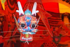 Traditional Chinese dragon kite