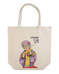 "Maxi tote bag ""Yeta Grandma"" – Cool and the bag"