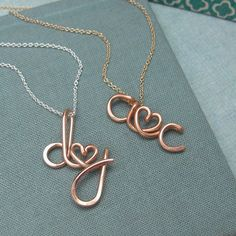 Two+LoversRose+Gold+Personalized+Initials+by+Laladesignstudio,+$70.00