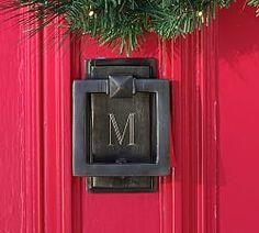 Square Door Wreath Hanger   Pottery Barn