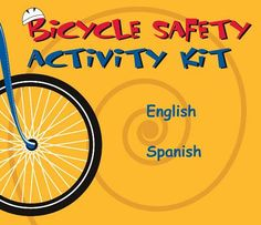 A toolkit for parents, caregivers, teachers, community leaders, and children to learn the important basics about #bicycle #safety. Bicycle Safety, Bike, Road Safety Poster, Transportation Activities, Summer Reading Program, Personal Safety, Health Lessons, School Lessons, Health And Safety