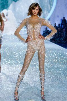 Karlie is sheer perfection. VICTORIA'S SECRET 2013
