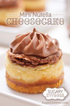 Mini Nutella Cheesecake Recipe