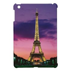Eiffel Tower iPad Mini Cover