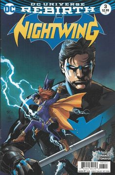 DC Nightwing Rebirth comic issue 3 Limited variant