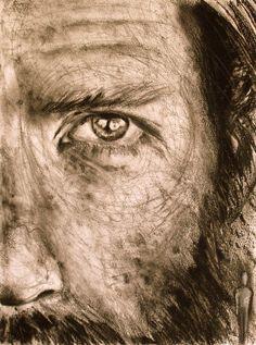 "Saatchi Art Artist: Paulo Silva; Pencil 2012 Drawing ""Behind"""