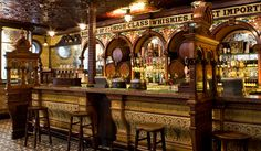 Built in 1826, Crown Liquor Saloon in Belfast, County Antrim is probably the most beautiful pub you'll ever see. Provided by James Fennell