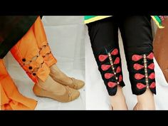Two beautiful and trending plazzo pant's bottom designs - YouTube