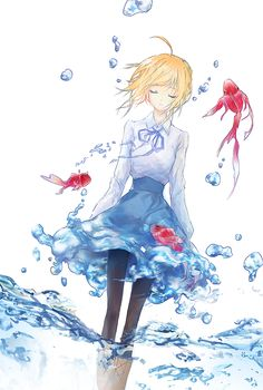 Saber from Fate/Stay Night || anime