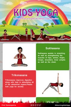 Kids Yoga Poses, Yoga For Kids, Teaching Kids, Kids Learning, Physical Activities, Activities For Kids, Anti Inflammatory Herbs, Improve Concentration, Learn Yoga