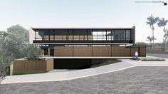 CASA ZM em Ituporanga SC. #casa #casas #arquitetura #ituporanga #jobimcarlevaro #casa #fachada #moderno #architecture