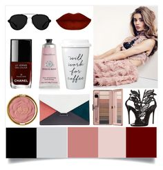 """""""Shades of Glam"""" by sixthandsocial on Polyvore featuring Chanel, 3.1 Phillip Lim, Giuseppe Zanotti, CÉLINE, Milani and Therapy"""