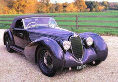Alfa Romeo 8C 2900B Pininfarina Cabriolet 1937