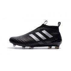 wholesale dealer c2478 4a8d0 Nouveau Adidas ACE 17 Purecontrol Terre ferme Noir Blanc, Acheter Chaussures  de football pour Homme, Haute qualité, prix bas, achetez maintenant, ...