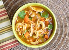 Chicken Noodle Soup with Ethiopian Spices- The classic Chicken Noodle Soup just got a delicious makeover- check it out at GMK!