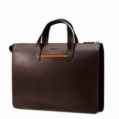 Amazing briefcase by The Vallance is handmade in Italy with vegetable-tanned leather and premium hardware. Exclusively available to preorder for OFF on website! Der Gentleman, Men's Backpacks, Backpack For Teens, Garment Bags, Work Bags, Tie Shoes, Computer Bags, Leather Briefcase, Leather Suitcase