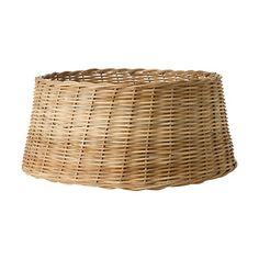 wicker tree skirt