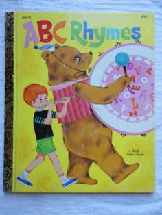 ABC Rhymes - Copyright 1970 - 16th printing 1981Edition