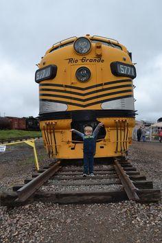 The Colorado Railroad Museum in Golden Colorado.  #colorado #denver #golden