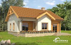 Gotowy projekt domu Abakus Dobre Domy wizualizacja 1