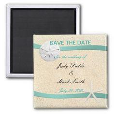 Sand Dollar Beach Wedding Save The Date Magnet http://www.zazzle.com/sand_dollar_beach_wedding_save_the_date_magnet-147450854928154547?rf=238271513374472230  #wedding  #savethedate  #beachwedding