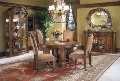 Cool Round Dining Room Table Sets Desktop Wallpaper