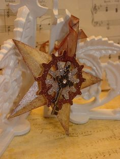 steampunk ornaments   Altered Art, Steampunk Key Christmas Ornament