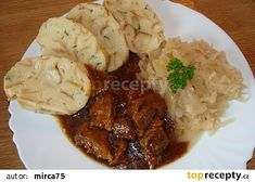 Moje porcička Grains, Pork, Rice, Meat, Chicken, Recipes, Kale Stir Fry, Ripped Recipes, Korn
