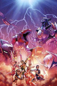 Mighty Morphin Power Rangers #14 principales CVR - 4/19/17 +   Objetos de colección, Cómics, Era moderna (1992-presente)   eBay!