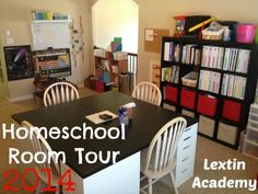 Lextin Academy of Classical Education- homeschool room attic loft- we don't have a dedicated room but I do like this one.